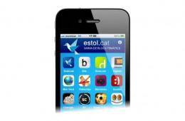Aplicació per iPhone Estol.cat