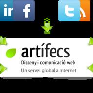 Artífecs és una empresa on realitzem projectes a Internet